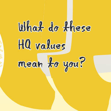 What do these HQ values mean to you?